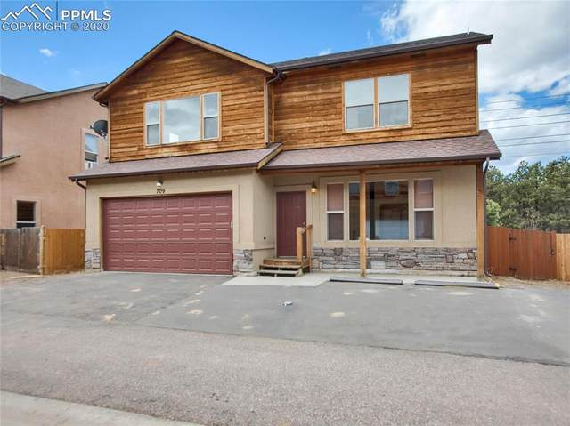 709 Valley View Drive, Woodland Park, CO 80863 (#8235570) :: 8z Real Estate