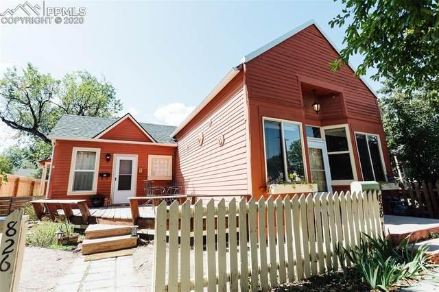 828 N Corona Street, Colorado Springs, CO 80903 (#8259166) :: Venterra Real Estate LLC