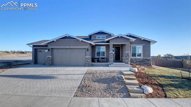 4007 Notch Trail, Colorado Springs, CO 80924 (#8268630) :: The Dixon Group