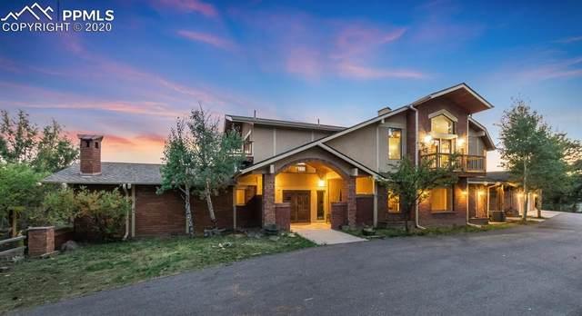 22454 Hillcrest Circle, Golden, CO 80401 (#8269803) :: Finch & Gable Real Estate Co.