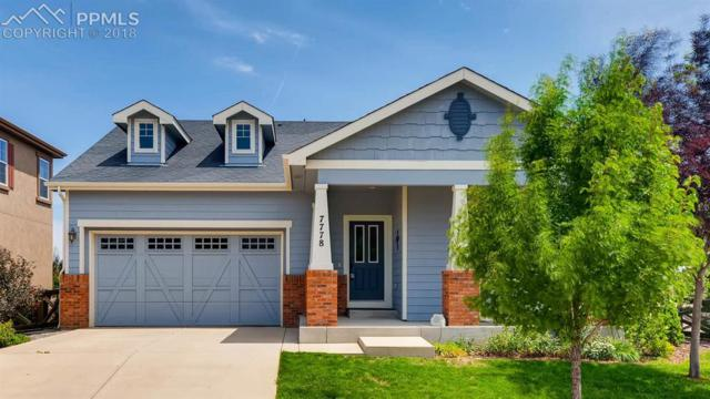7778 Buckeye Tree Lane, Colorado Springs, CO 80927 (#8278765) :: The Hunstiger Team