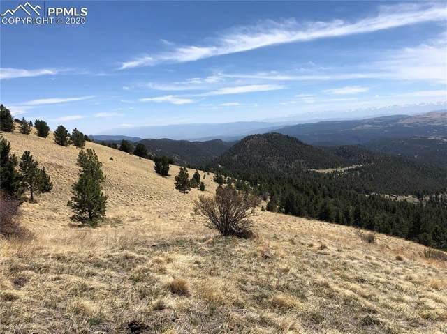 Spring Canyon Ranch Road, Cripple Creek, CO 80813 (#8283365) :: 8z Real Estate