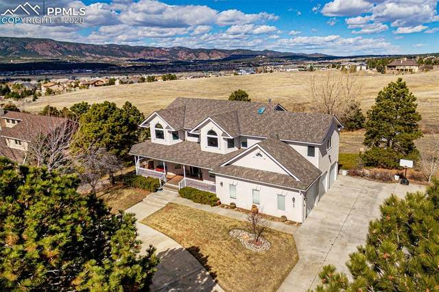 780 W Caribou Drive, Monument, CO 80132 (#8285553) :: The Harling Team @ Homesmart Realty Group
