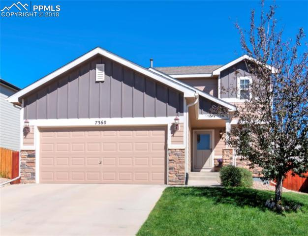 7360 Willowdale Drive, Fountain, CO 80817 (#8296979) :: Jason Daniels & Associates at RE/MAX Millennium
