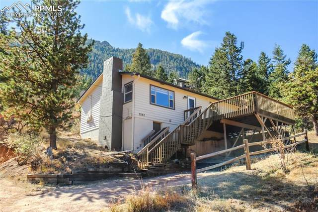 7080 Iona Avenue, Green Mountain Falls, CO 80819 (#8320900) :: The Treasure Davis Team