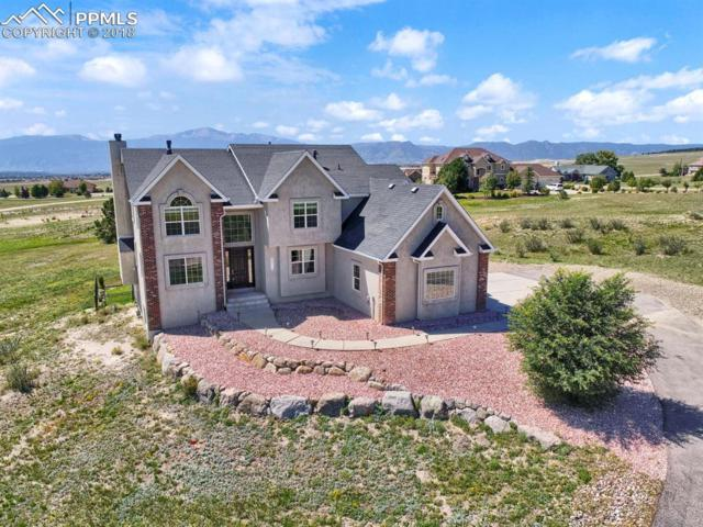 9810 Rising Eagle Place, Colorado Springs, CO 80908 (#8336121) :: The Treasure Davis Team