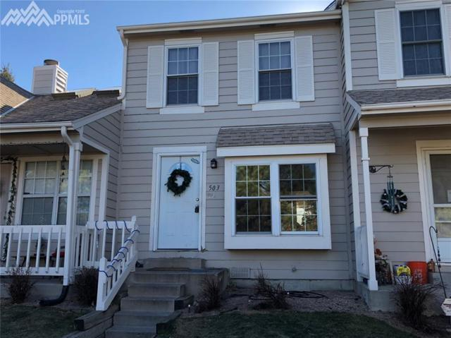 503 Shady Crest Circle, Colorado Springs, CO 80916 (#8338451) :: The Peak Properties Group