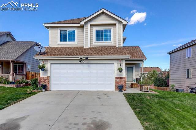 850 Legend Oak Drive, Fountain, CO 80817 (#8349254) :: Finch & Gable Real Estate Co.