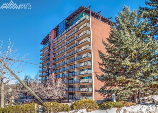 417 E Kiowa Street #201, Colorado Springs, CO 80903 (#8358681) :: The Hunstiger Team