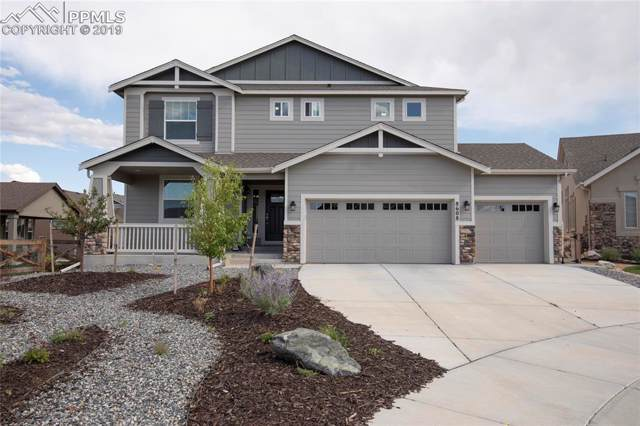 8608 Crooked Branch Lane, Colorado Springs, CO 80927 (#8360194) :: The Kibler Group