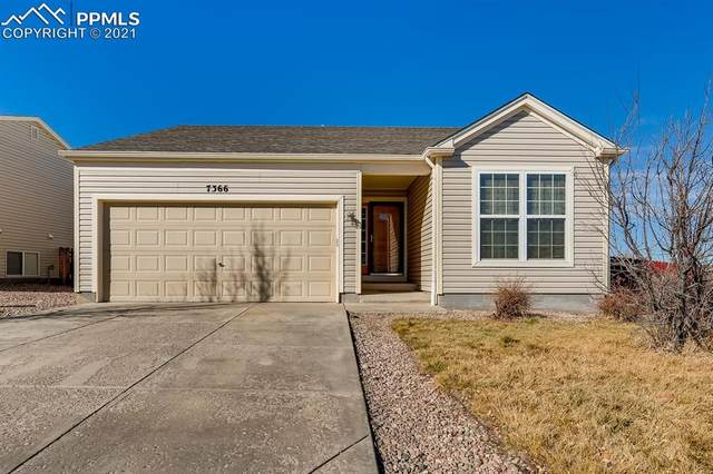 7366 Brush Hollow Drive, Fountain, CO 80817 (#8370967) :: Action Team Realty