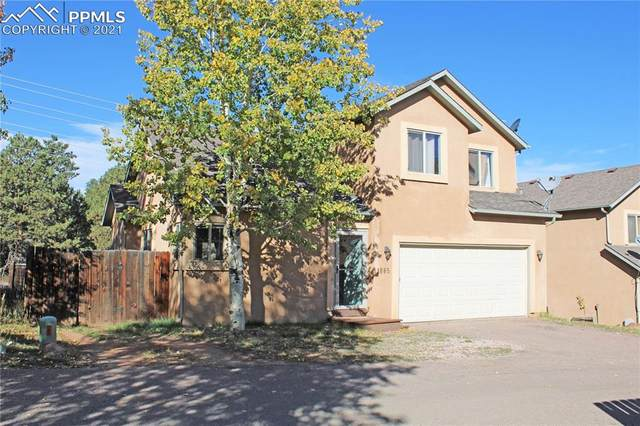 1665 Columbine Village Drive, Woodland Park, CO 80863 (#8375741) :: The Gold Medal Team with RE/MAX Properties, Inc