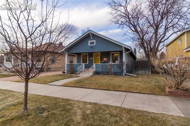 408 E Espanola Street, Colorado Springs, CO 80907 (#8381437) :: The Hunstiger Team