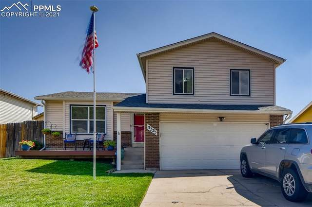 3325 Bridgewater Drive, Colorado Springs, CO 80916 (#8400584) :: Tommy Daly Home Team