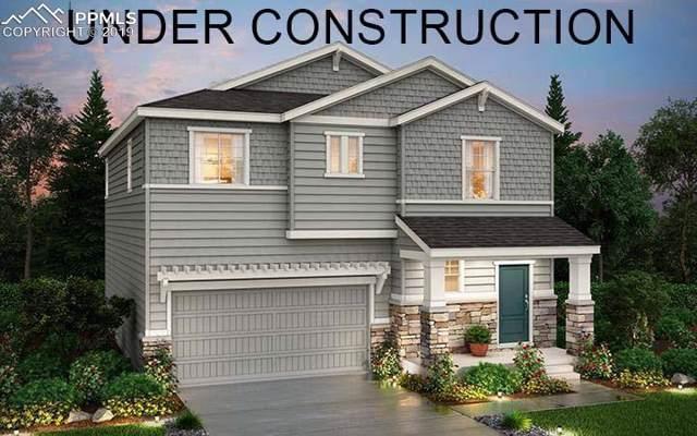 12809 Billingsley Trail, Parker, CO 80134 (#8403737) :: The Peak Properties Group