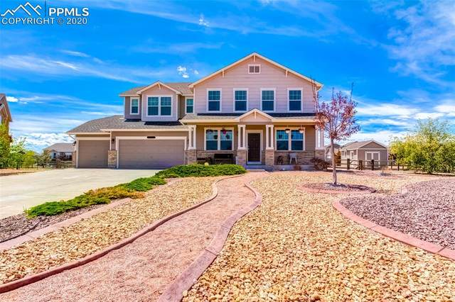 12129 Rio Secco Road, Peyton, CO 80831 (#8435230) :: Tommy Daly Home Team