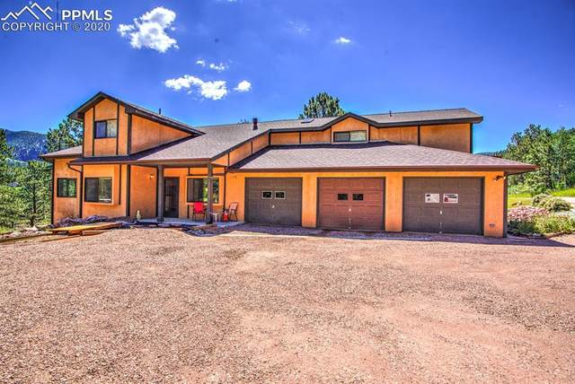 391 Creek Side Drive, Woodland Park, CO 80863 (#8482325) :: Finch & Gable Real Estate Co.