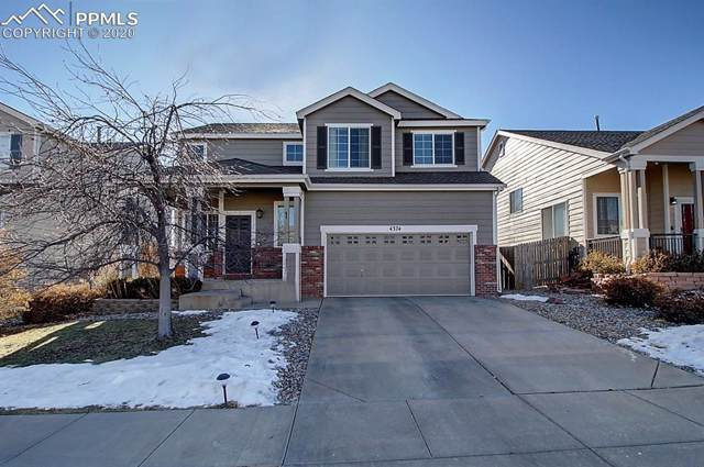 4374 Crow Creek Drive, Colorado Springs, CO 80922 (#8492510) :: Tommy Daly Home Team