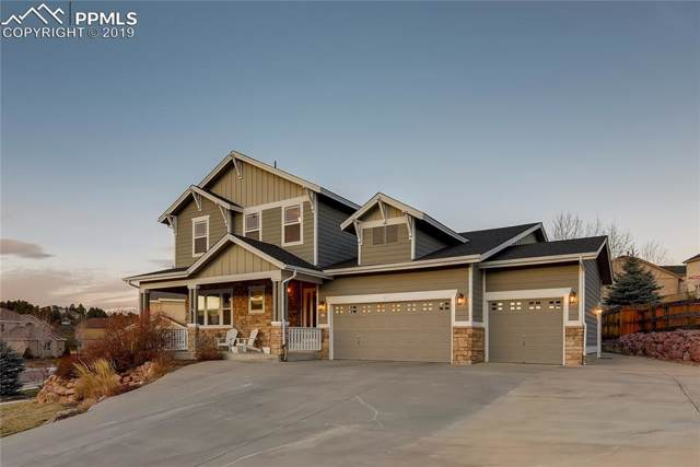 541 Coyote Willow Drive, Colorado Springs, CO 80921 (#8500086) :: The Peak Properties Group