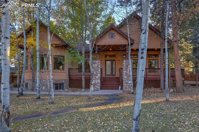 1410 Eagle Trace Court, Woodland Park, CO 80863 (#8500605) :: Compass Colorado Realty