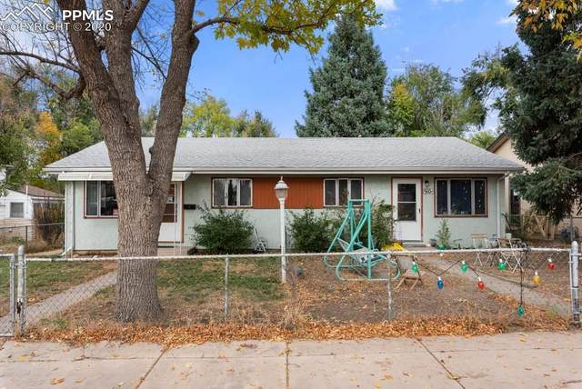 910 1st Street, Colorado Springs, CO 80907 (#8502953) :: Fisk Team, RE/MAX Properties, Inc.
