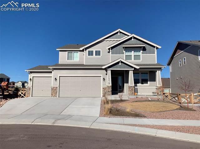 8416 Crooked Branch Lane, Colorado Springs, CO 80927 (#8512933) :: The Dixon Group