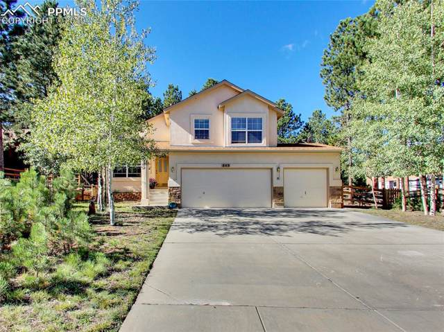 849 Misty Pines Circle, Woodland Park, CO 80863 (#8517038) :: The Kibler Group