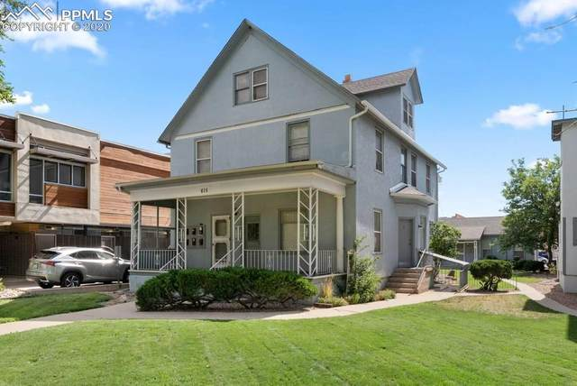 615 N Cascade Avenue, Colorado Springs, CO 80903 (#8528025) :: The Kibler Group