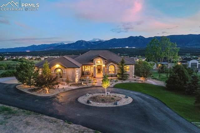 14965 Crooked Spur Lane, Colorado Springs, CO 80921 (#8528627) :: Fisk Team, RE/MAX Properties, Inc.
