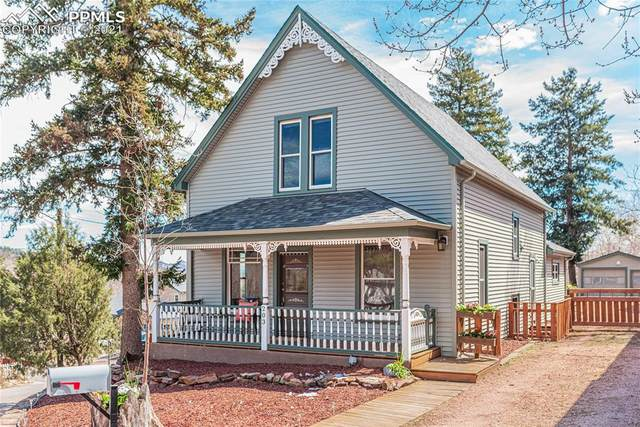 203 Pawnee Avenue, Manitou Springs, CO 80829 (#8531898) :: The Cutting Edge, Realtors