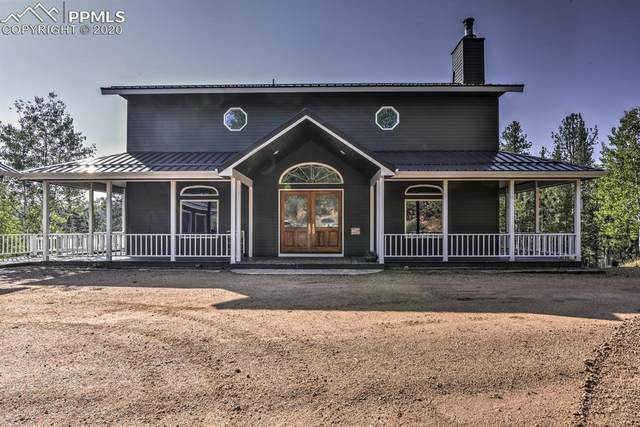 4265 Trout Creek Road, Woodland Park, CO 80863 (#8533944) :: Action Team Realty