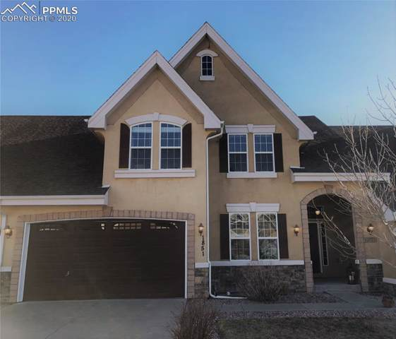1851 Bel Lago View, Monument, CO 80132 (#8542905) :: The Kibler Group