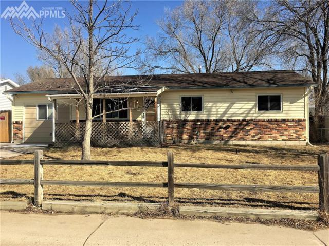 1739 Ascot Road, Colorado Springs, CO 80906 (#8555991) :: The Hunstiger Team