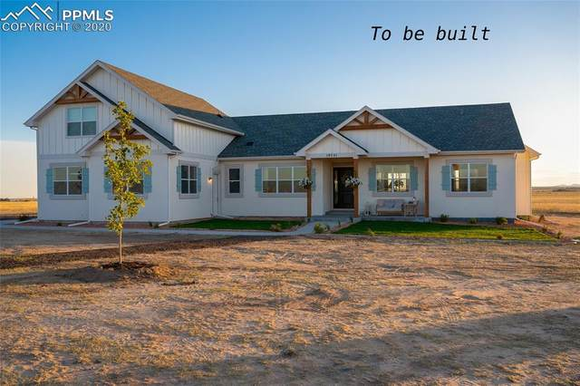 18605 Prairie Coach View, Calhan, CO 80808 (#8557133) :: HomeSmart