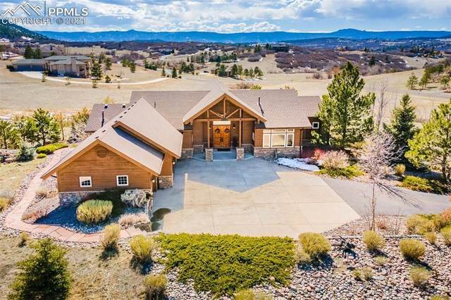 4131 Bell Mountain Drive, Castle Rock, CO 80104 (#8566636) :: Tommy Daly Home Team