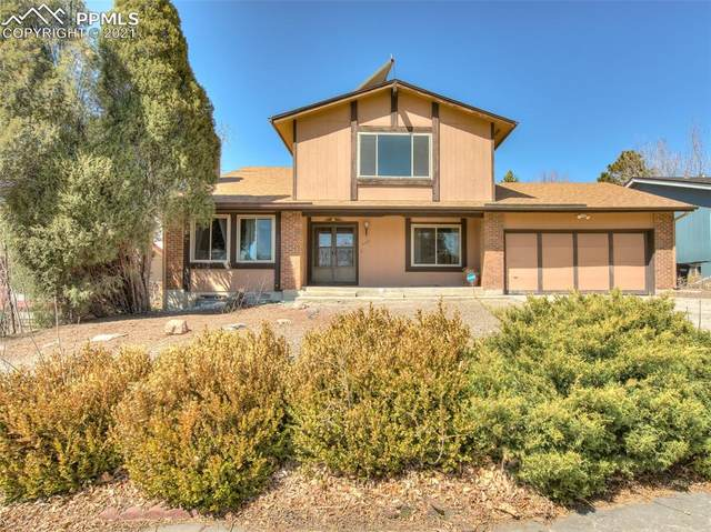 3128 Blue Mountain Way, Colorado Springs, CO 80906 (#8579460) :: The Harling Team @ HomeSmart
