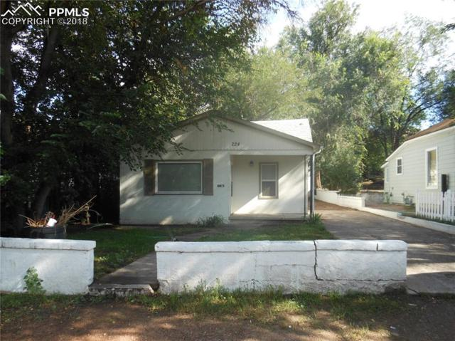 224 E Mill Street, Colorado Springs, CO 80903 (#8582457) :: The Hunstiger Team