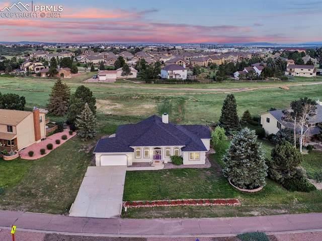 14065 Gleneagle Drive, Colorado Springs, CO 80921 (#8586512) :: The Dixon Group
