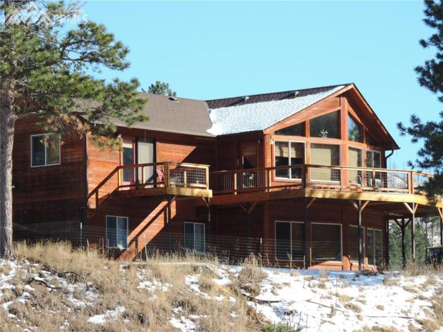 1280 Painted Rocks Road, Woodland Park, CO 80863 (#8593022) :: The Dunfee Group - Keller Williams Partners Realty