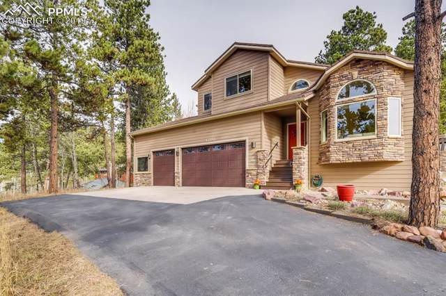 1210 Kings Crown Road, Woodland Park, CO 80863 (#8593843) :: The Treasure Davis Team