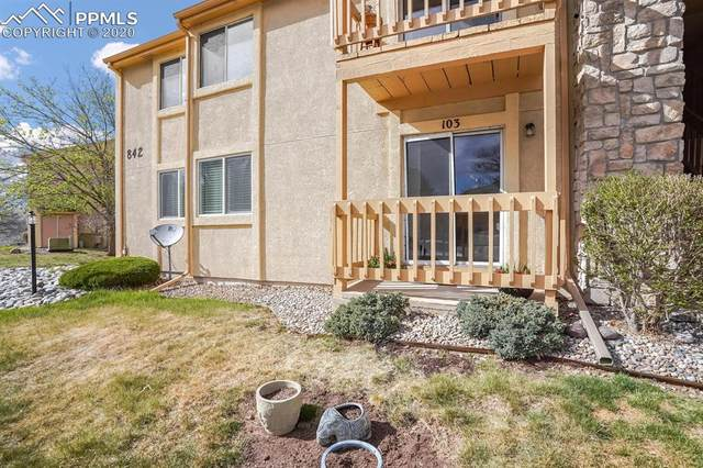 842 Tenderfoot Hill Road #103, Colorado Springs, CO 80906 (#8593977) :: Action Team Realty