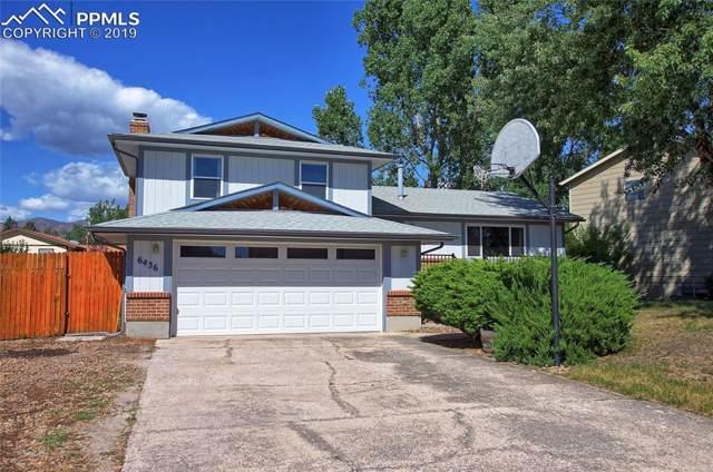 6436 Dewsbury Drive, Colorado Springs, CO 80918 (#8599363) :: The Peak Properties Group