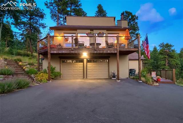 25100 Sunset Lane, Evergreen, CO 80439 (#8606146) :: Action Team Realty