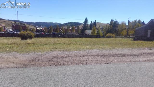 TBD Eaton Avenue, Cripple Creek, CO 80813 (#8610713) :: Harling Real Estate