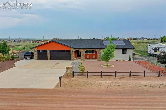 1336 N Dailey Drive, Pueblo West, CO 81007 (#8615773) :: Fisk Team, eXp Realty