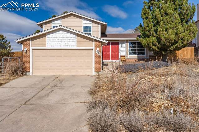 7040 Nettlewood Place, Colorado Springs, CO 80918 (#8629305) :: The Dixon Group