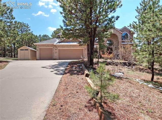 735 Winding Hills Drive, Monument, CO 80132 (#8638968) :: The Daniels Team