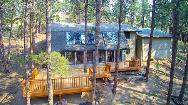 400 W Lovell Gulch Road, Woodland Park, CO 80863 (#8649034) :: Tommy Daly Home Team