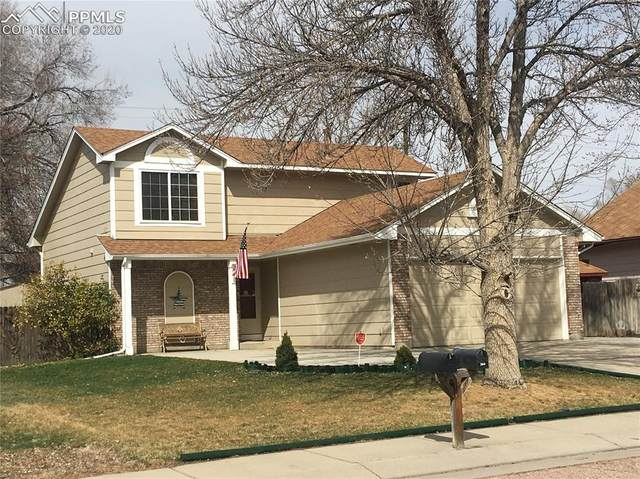 360 Dix Circle, Colorado Springs, CO 80911 (#8690796) :: Finch & Gable Real Estate Co.