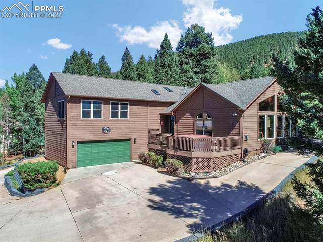 1068 Parkview Road, Woodland Park, CO 80863 (#8702417) :: Finch & Gable Real Estate Co.